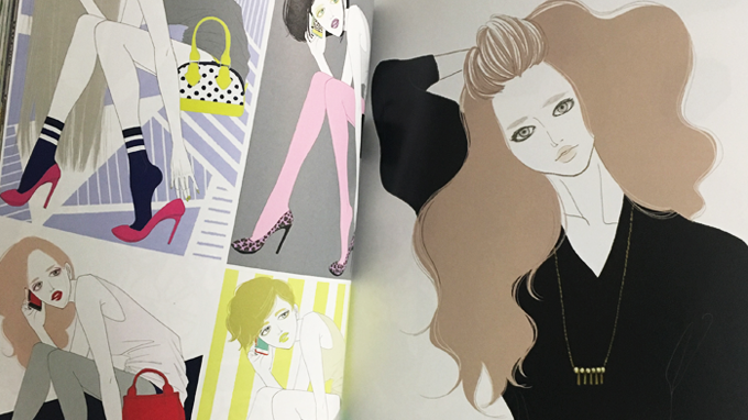ART BOOK OF SELECTED ILLUSTRATION「Girls」掲載