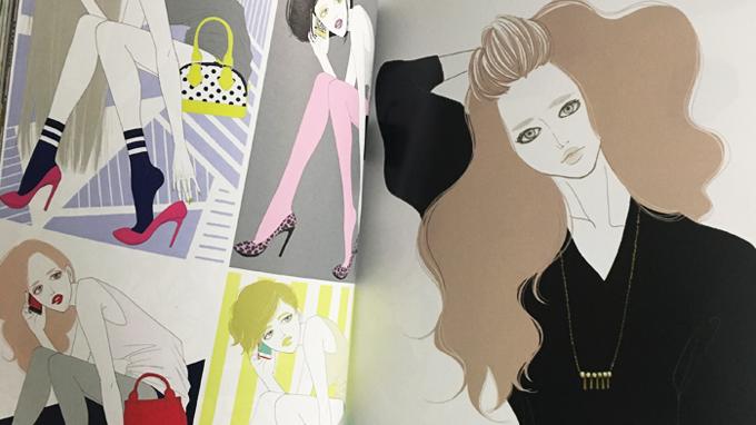 ART BOOK OF SELECTED ILLUSTRATION「Girls」掲載